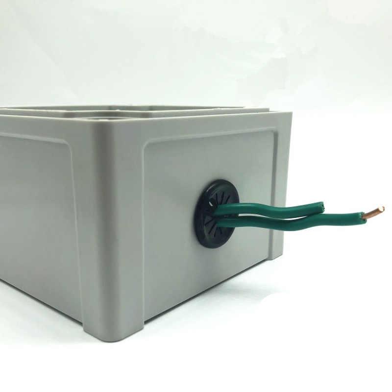 10 chiếc khóa Nhựa Bàn Dây Lỗ Che Bụi cắm máy tính Grommet 35mm Bàn Cáp Ổ Cắm Cổng cói Nhẫn dây Giá nhà tổ chức