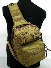 Tactical Utility Gear Shoulder Sling Bag Mountaineering Travel Military Waist Bags