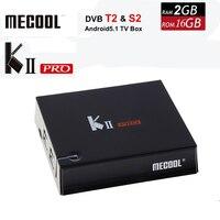 DVB-S2 DVB-T2 Кии Pro ТВ коробка Android 5.1 Amlogic s905 quad-core 2 ГБ + 16 ГБ 2.4 г и 5 г Wi-Fi Bluetooth 4.0 HDMI 4 К * 2 К комплект media player