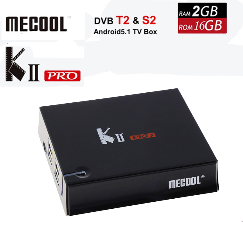 DVB-S2 DVB-T2 KII Pro TV Box Android 5.1 Amlogic S905 Quad-core 2GB+16GB 2.4G &5G WiFi Bluetooth 4.0 HDMI 4K*2K Set Media Player new k1 plus s2 t2 android 5 1 tv box amlogic s905 set tv box 4k hd 1g 8g quad core stb wifi media player free shipping