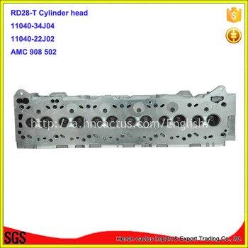 ชิ้นส่วนเครื่องยนต์RD28-T RD28Tฝาสูบ11040-34J00 11040-34J04 11040-22J01บบส. 908 502