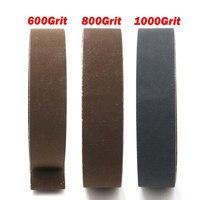 Mayitr 15Pcs 1 X 30 Grinding Belts Grit 600 800 1000 Belt Sander For Grinding Sharpening