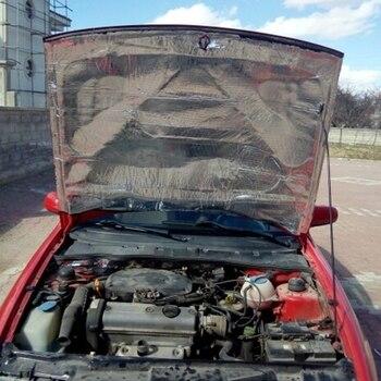 140x100cm Auto Hood Motor Firewall Warmte Mat Deadener Geluidsisolatie Deadening Materiaal Interieur Geluid Warmte-isolatie Katoen