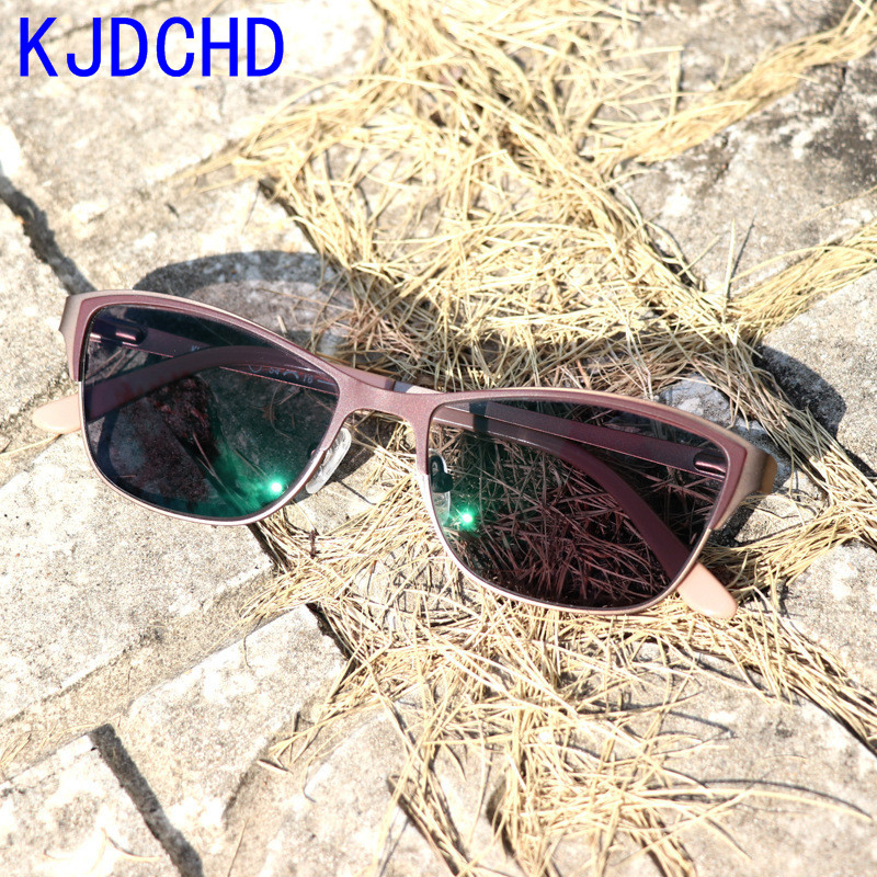 Image 4 - 2019 New fashion Titanium alloy sunglasses for women  transition photochromic reading glasses presbyopia diopters glasses-in Women's Reading Glasses from Apparel Accessories