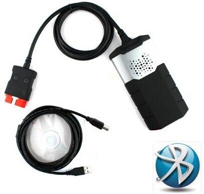 2019 Nouveau vci obd2 scanner pour delphis ds150e bluetooth 2015R3 keygen outil de diagnostic + 8 pièces voiture câbles pour autocome tcs cdp pro