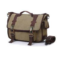 High Quality Men Messenger Bags Vintage Canvas Travel Crossbody bags for men 2018 Bolsa Masculina sac homme