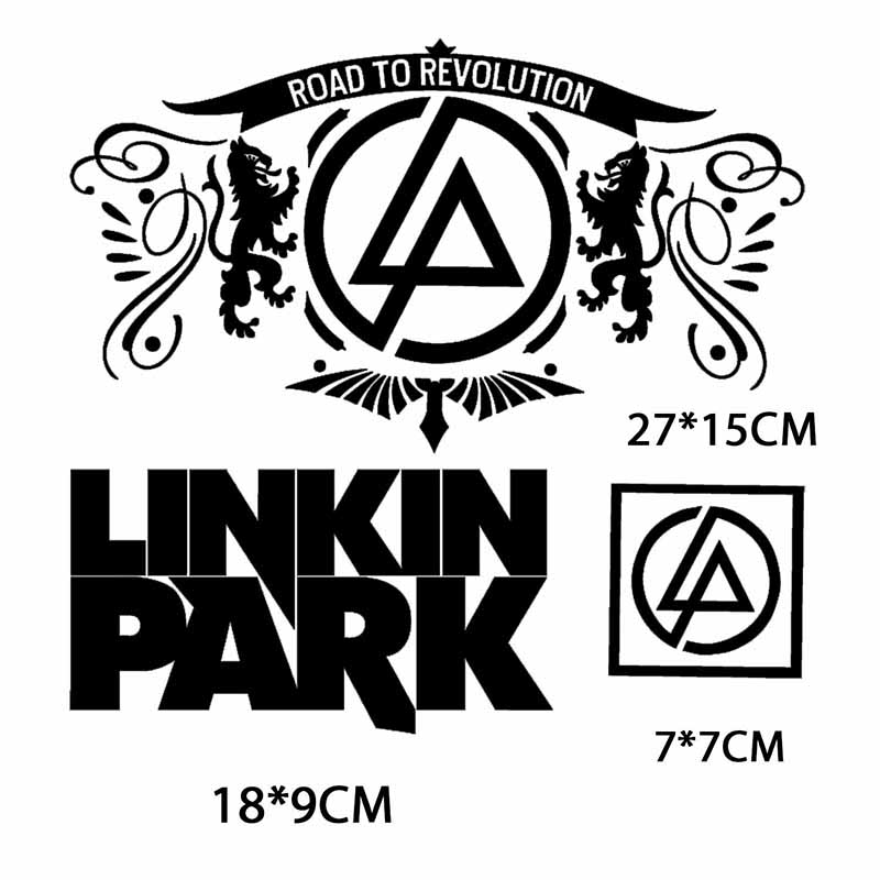 Linkin Park Rock Band embroidered Iron On Sew On Patch DIY
