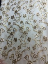 Glued glitter sequins lace trim Jolin-045 mesh african indian lace fabric  for wedding  evening dress b38d7796fa35