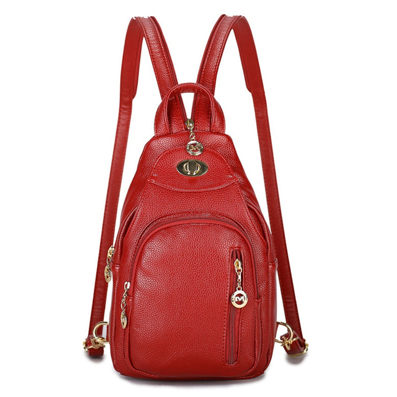 Fashion Women Backpack Soft Leather Ladies Travel Bags Preppy Style Female Mochila Schoolbags For Teenager Girls High Quality preppy style multi color women backpack teenager large school bag casual travel backpacks female high quality soft girls bags
