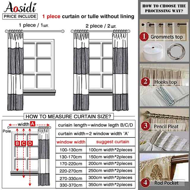 Floor to Ceiling Window Covering Curtain 6