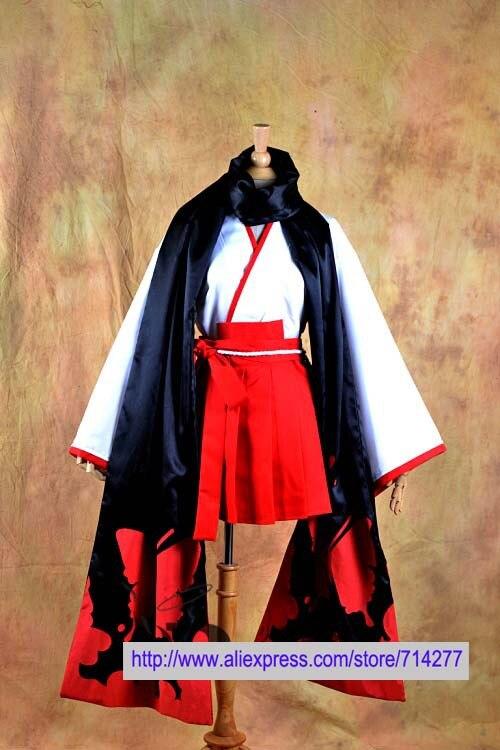 Free shipping Custom Cheap Ririchiyo Cosplay Costume from Inu x Boku SS