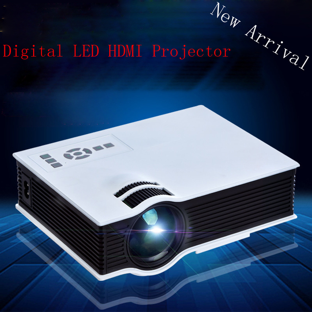 With CE UL Mark High Quality HDMI USB Video Projector LED 20000 Hours Lamp Perfect Choice For Home Cinema Room Beamer Proyector