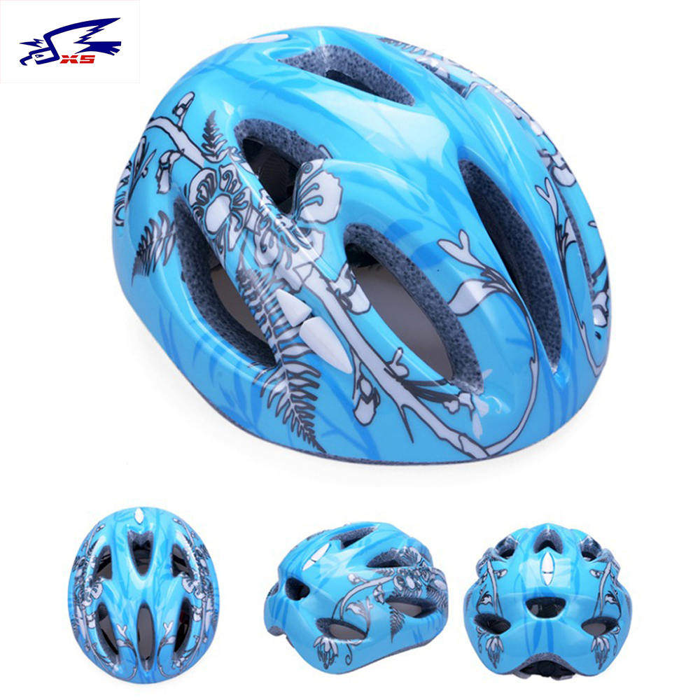 50~60cm Kids Helmets 11 Holes Bicycle Cycling Skating Safety Helmets for Child Ciclismo Cascos Girls/Boys Sports Kids Helmets