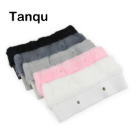 Tanqu New 11 Colors Women Bag Plush Trim For O BAG Thermal Plush Decoration Rabbit Fur