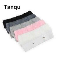 Tanqu New 11 Colors Women Bag Plush Trim For O BAG Thermal Plush Decoration Rabbit Fur