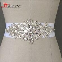 Robbin промоушен створки кристаллы изображения реальные искусственный свадьбы свадебный невесты пояс