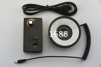 100*46 มม. สีขาวแหวนเครื่อง Vision LED วงกลมความสว่างมุมความสว่างปรับความสว่างโคมไฟพิเศษ