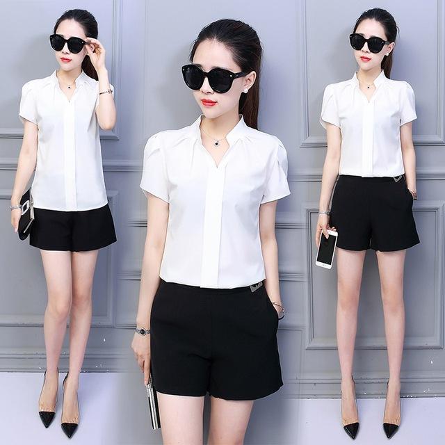 Female Short Sleeve Fashion Top
