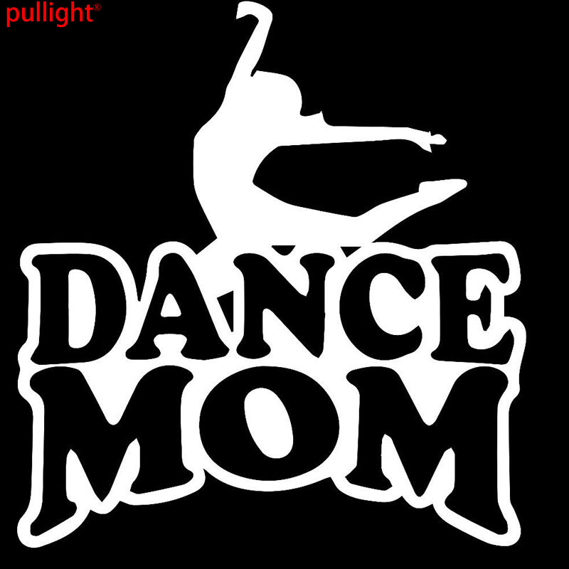 21 3cm22 9cm dance mom car car truck bumper window sports funny car stickers reflective vinyl styling in car stickers from automobiles motorcycles on