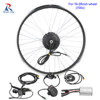 24/36/48V DC Gear Brushless bicycle Hub Motor kit 20 28 Electric bike front wheel motor kit e bike conversion kits