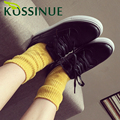 Autumn New Black White shoes Genuine Leather Female Lace up Breathable Students Tide Shoes Casual Claasics Shoes For Girls