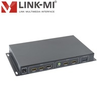 Hdmi Video Wall Controller 90 180 360 Degree Rotation HDMI Splitter 1x2 For Led Display 1080P