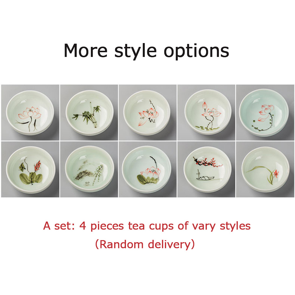 52ML kineski čaj za čaj Kung Fu keramički ručno oslikani porculan - Kuhinja, blagovaonica i bar - Foto 4