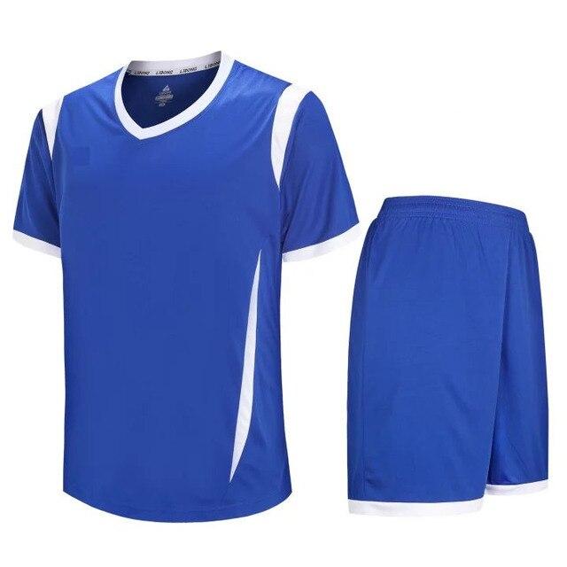 ``Top thai quality football kits no logo sublimation customize plain soccer  jerseys quick dry Uniform Ensemble jerseys LD 5010 21b9a84ad9d3