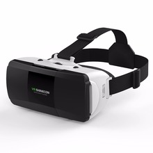 Anskp Original VR Headset Version Virtual Reality Glasses 3D Glasses Headset  Google Cardboard Helmet  for 4.7-6.0 Mobile Phone
