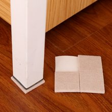 mat pad Furniture Feet Thick non-slip Felt table chairs gloves foot protection pads desk chair leg sleeve kitchen tools(China)