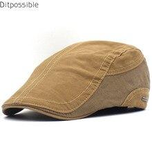 Hat Boina Beret-Caps Casquette Summer New Casual Ditpossible Cotton Gorras Men