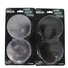 10 шт./комплект, подставки для фигурок NECA, совместимые с большинством экшн-фигурок 6-8 дюймов, фигурки из ПВХ, коллекционная игрушка