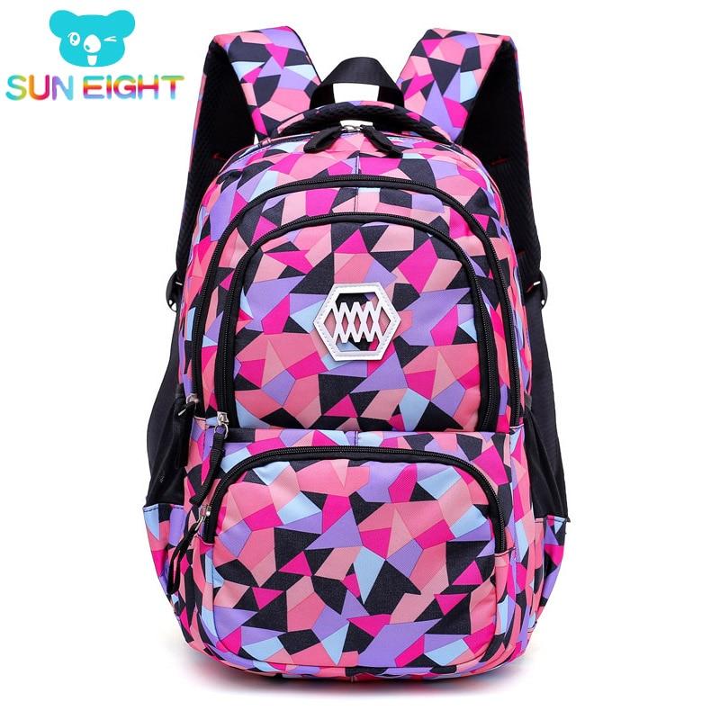 SUN EIGHT Women Backpack Girl School Bag For College Students Travel Backpacks Laptop School Bags for Teenage Girls все цены