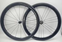 1pair New OEM 700C 88mm clincher rims road bike aero matte 3K UD 12K full carbon bicycle wheelsets 23 25mm width Free ship