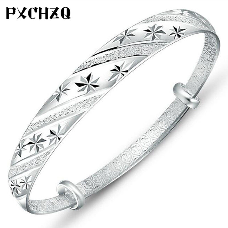 Korean version of the national wind popular fashion jewelry push-pull ring twill meteor shower bracelets hot wholesale