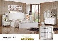 Muebles де Dormitorio Новое поступление 2018 Бесплатная доставка! Современная мода Спальня набор мебели хорошо Quolity продвижение дешевой цене