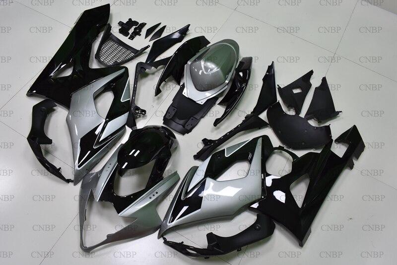 GSXR 1000 2005 Fairing Kits for Suzuki GSXR1000 2005 - 2006 K5 Black Silver Bodywork for Suzuki GSXR1000 2005 Plastic FairingsGSXR 1000 2005 Fairing Kits for Suzuki GSXR1000 2005 - 2006 K5 Black Silver Bodywork for Suzuki GSXR1000 2005 Plastic Fairings