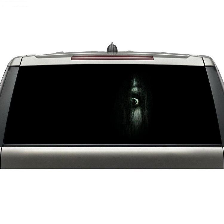 Aliexpress nouveaux produits fenêtre arrière graphique décalcomanie pour camions imperméable vinyle adhésif autocollant avec livraison gratuite