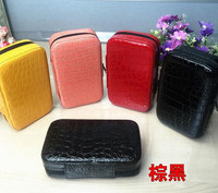 Sturdy Double Zipper 32 Bottles Essential Oils Carrying Case 2ml Pouch Beautiful Portable Custom Hard Case