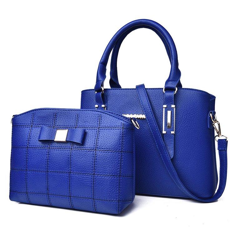 2018 new fashion women's bag two-piece shoulder bag 4