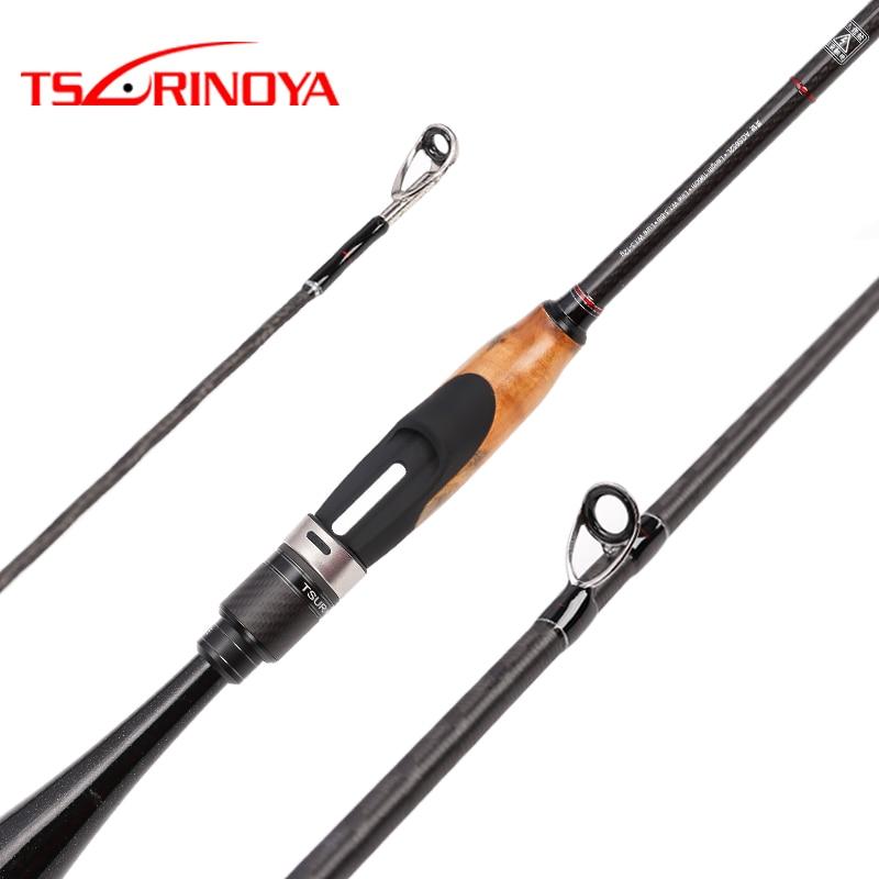 TSURINOYA AGILE 1.95 ml/2.01 m ML FUJI accessoires De Pêche Leurre Tige Ultra-léger de carbone poignée mandarin poissons spinning rod