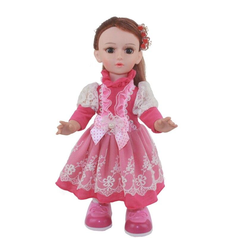 Princess Anna 16 42cm interactive smart doll talking dancing Russian speaking walking doll girl gift