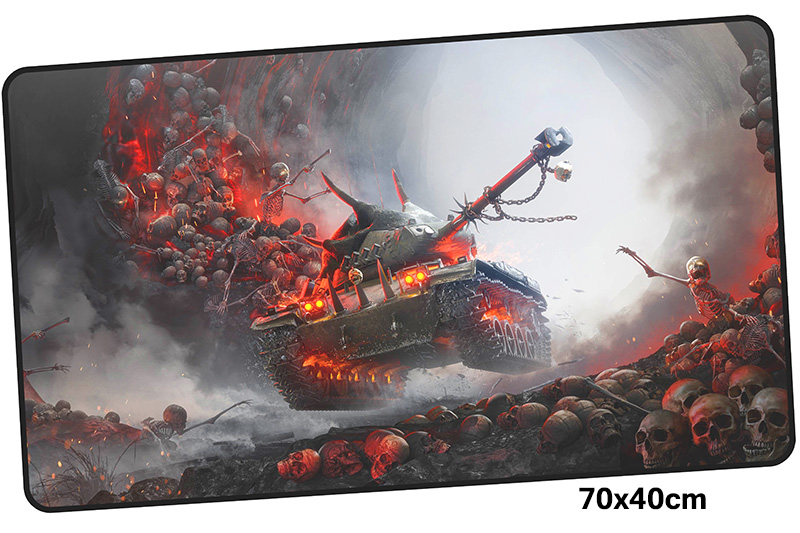 world of tanks mousepad gamer 700x400X3MM gaming mouse pad computador notebook pc accessories laptop padmouse ergonomic mat