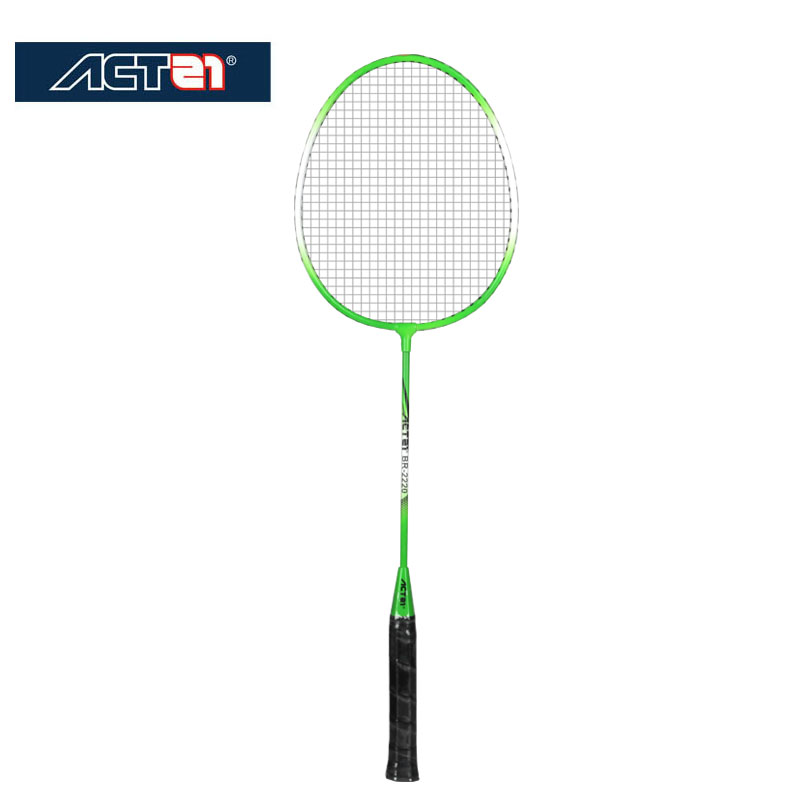 ACTEI Genuine Ultra Light Badminton Racket 2 Double Shot Ultra Light Composite Racket Durable Resistant Amateur