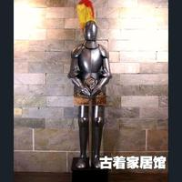 The European Medieval Knight Armor / ancient Rome life size Samurai armor / European style living room decoration 2m