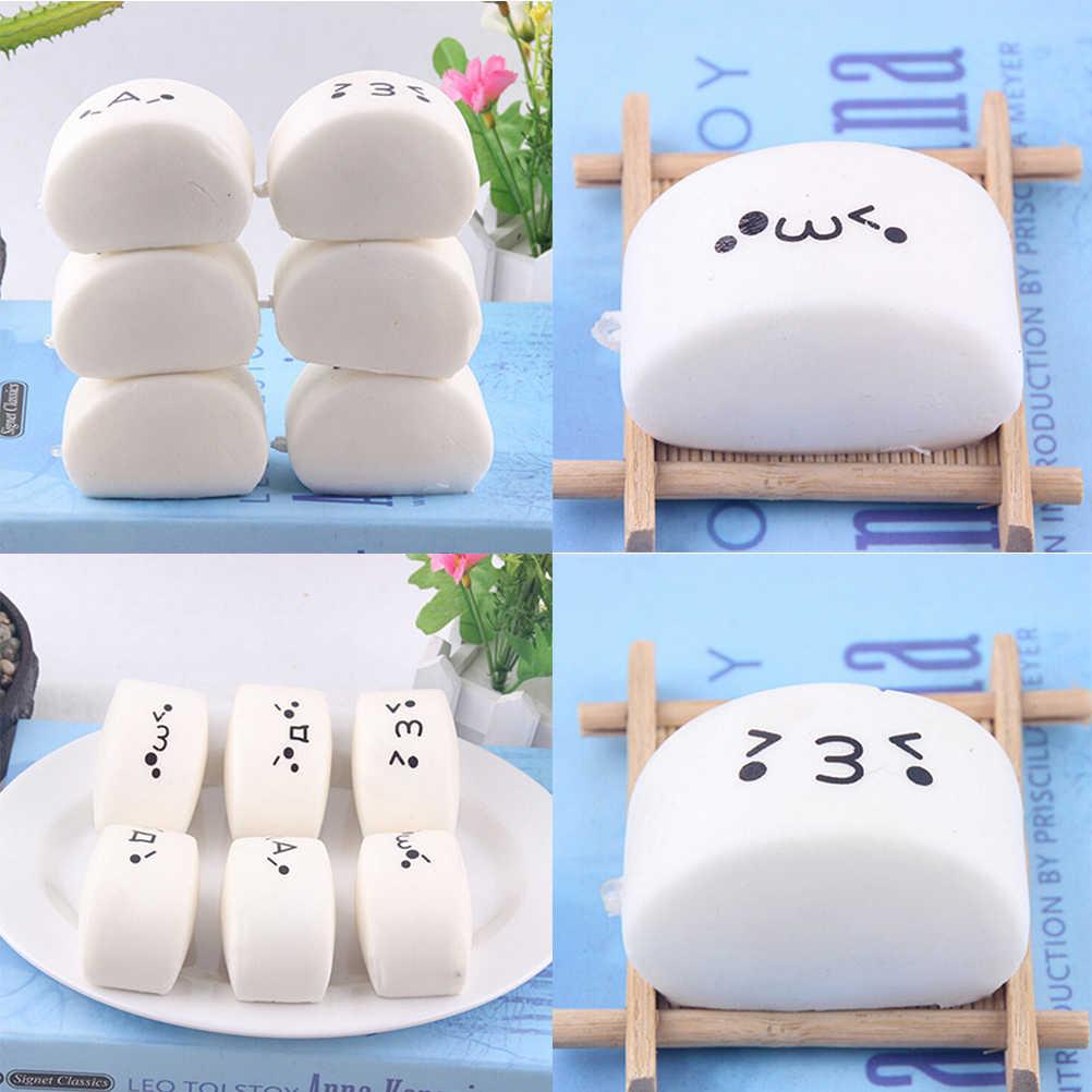 JINHF 1 PCpanda/חתול/לחמניות/תות עוגת/קרח קרם רטוב לחם פירורי שוקולד ארטיק טלפון רצועות רך ריחני קסמי