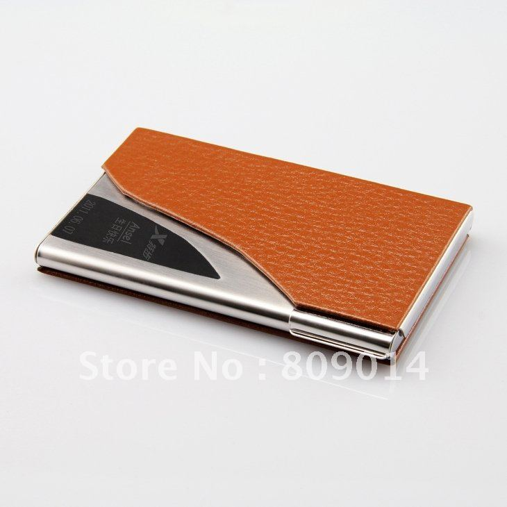 Beautiful Engraved Leather Business Card Holder Ideas - Business ...