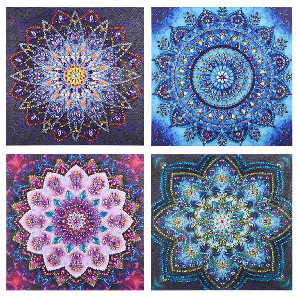 Full Drill DIY Diamond Embroidery Painting Cross Stitch Kit Arts Crafts 25x25cm