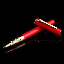 פיקאסו 988 Pimio פולו מתכת רולר כדור עט עם דיו מילוי, שלושה צבע אריזת מתנה אופציונלי משרד עסקים כתיבת ספר עט