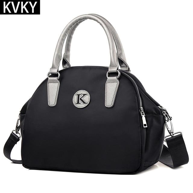 2017 Fashion Shell Women Handbags Casual Waterproof Nylon Messenger Bags Ladies Tote Bag Shoulder Crossbody Bags bolsas feminina